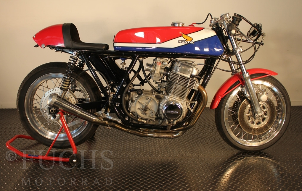 Fuchs Motorrad - Bikes - HONDA CR 750 Replica