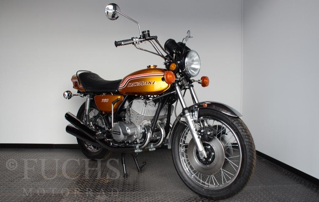 fuchs motorrad bikes kawasaki h2 mach iv. Black Bedroom Furniture Sets. Home Design Ideas