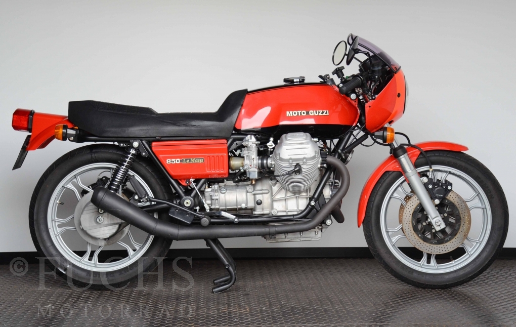 fuchs motorrad bikes moto guzzi le mans 1. Black Bedroom Furniture Sets. Home Design Ideas