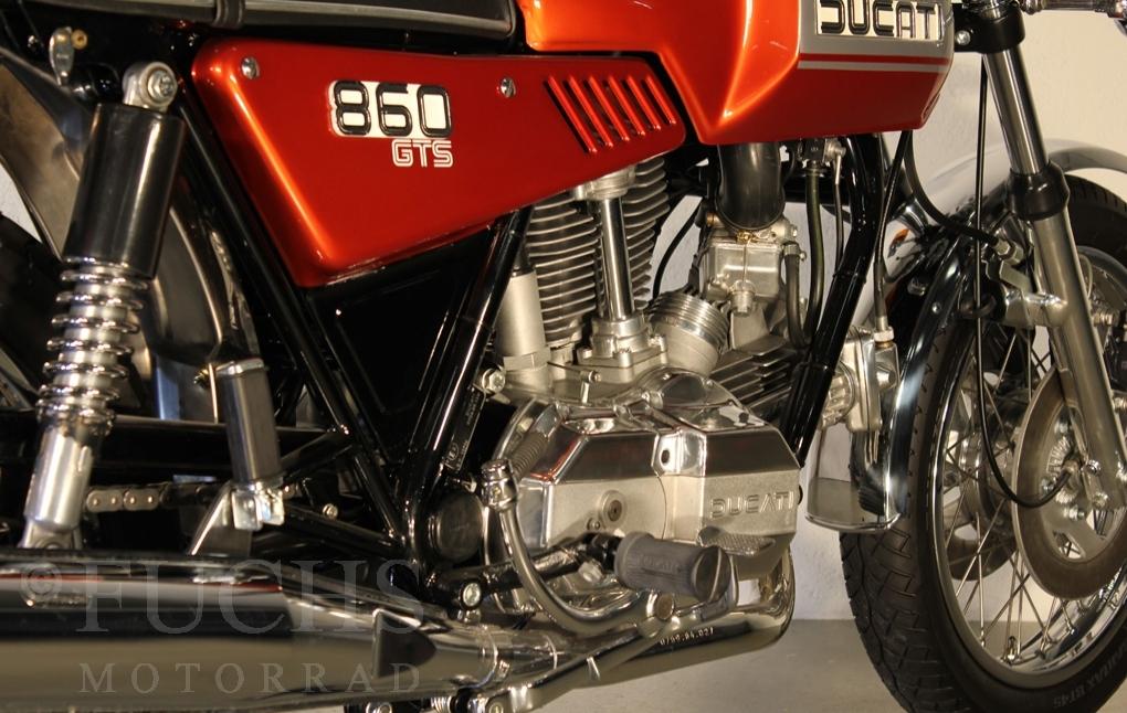 Fuchs Motorrad - Bikes - DUCATI 860 GTS