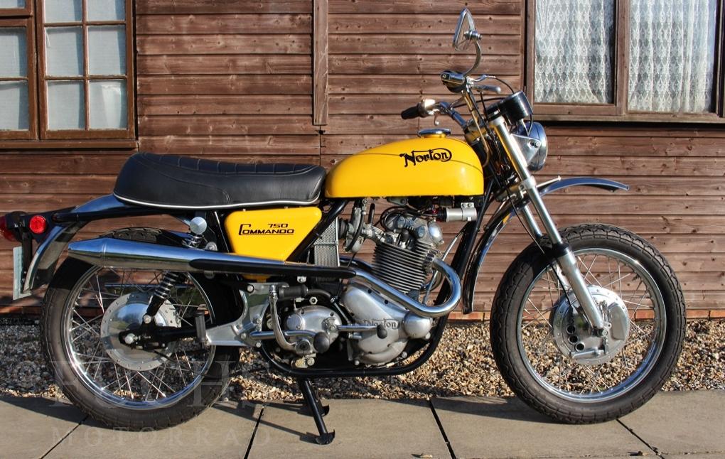 Fuchs Motorrad - Bikes - NORTON 750 SS Commando