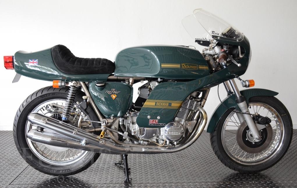 Fuchs Motorrad Bikes Rickman Honda Cb 750 Four